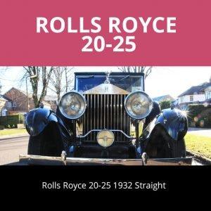 ROLLS ROYCE 20-25