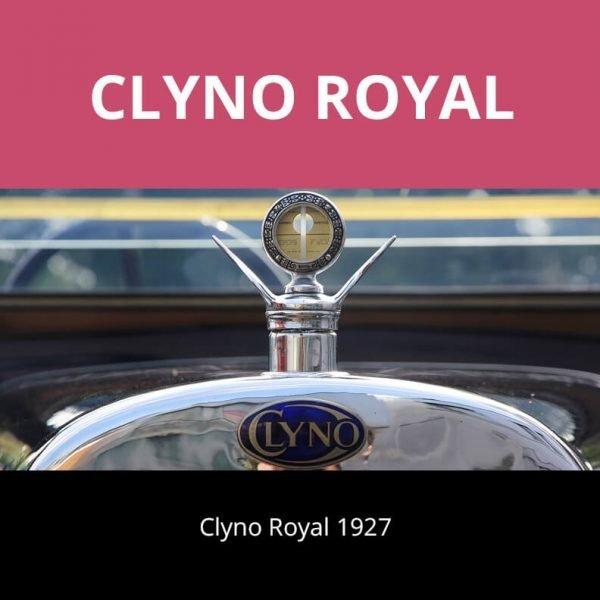 Clyno Royal