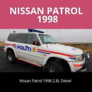 Nissan Patrol 1998 Sound